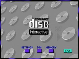 Philips CD-i menu screen