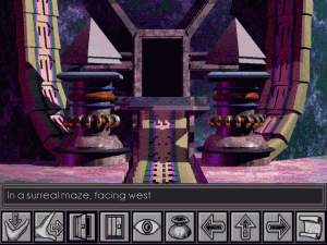 Screenshot from The Labyrinth of Time