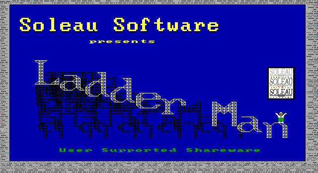 Title screen from Ladder Man