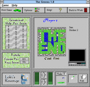 Screenshot from The Greens