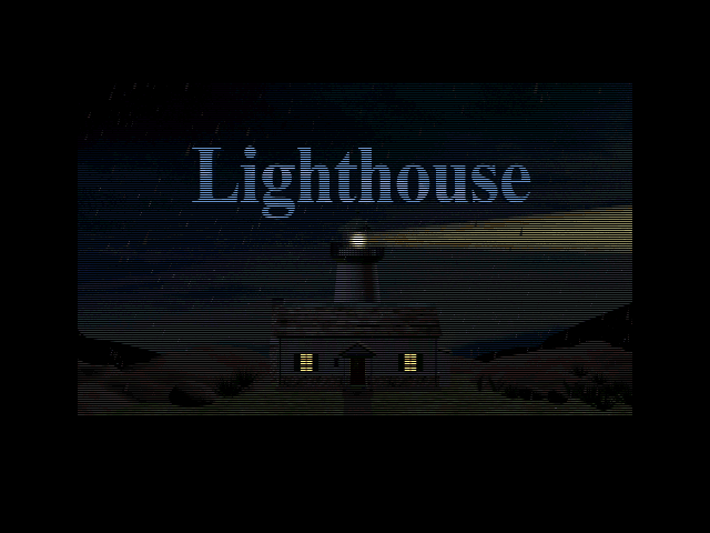 Title screen from Lighthouse: The Dark Being
