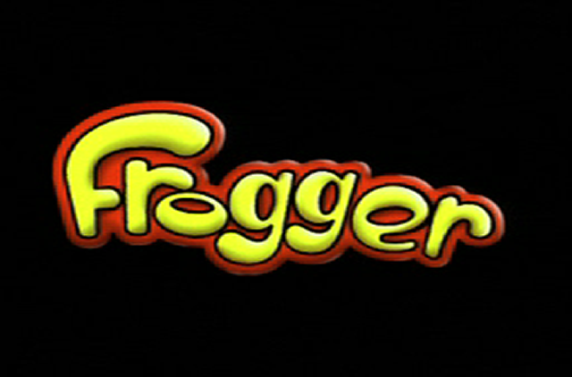 Title screen from Frogger 3D: He's Back!