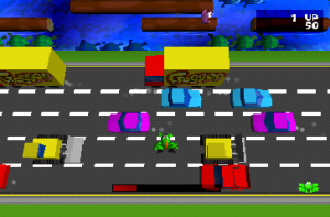 Screenshot from Frogger 3D: He's Back!