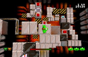 Screenshot from Frogger 3D: He's Back