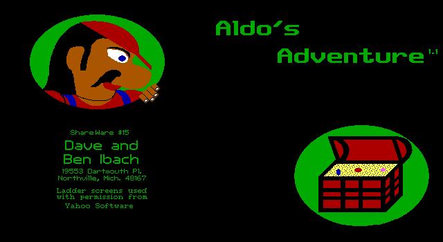 Title screen from Aldo's Adventure