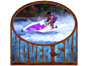 Title screen from HoverSki