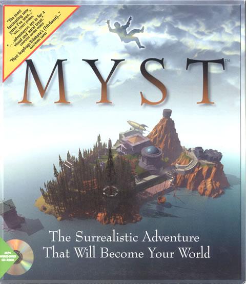 Box art from Myst