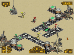 Screenshot from Star Wars Pit Droids!