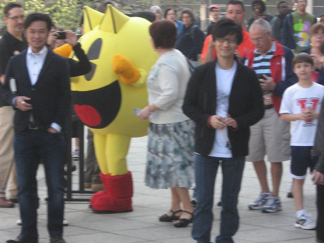 Pac-Man and Hideo Kojima