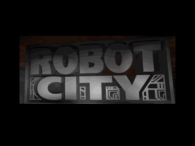 Title screen from Robot City