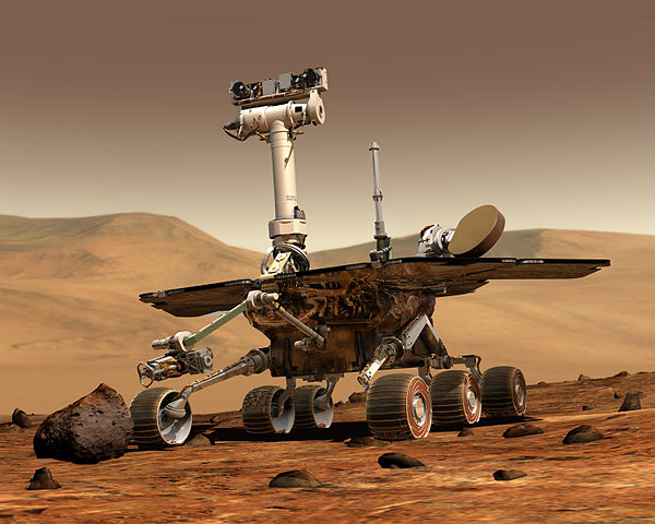 NASA Mars Exploration Rover rendering