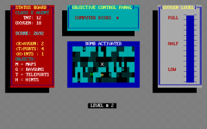 Screenshot from Maze Mission Adventure Game
