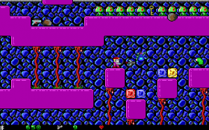 Screenshot from Crystal Caves