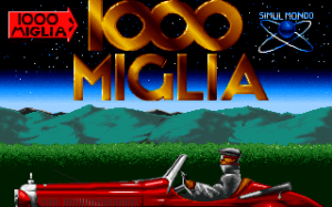 Title screen from 1000 Miglia