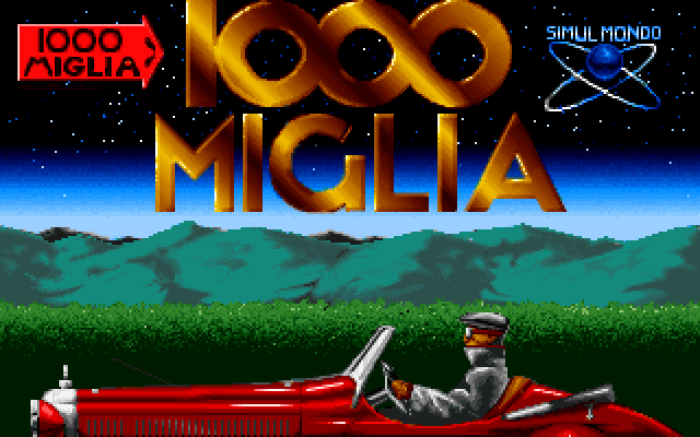 Title screen from 1000 Miglia