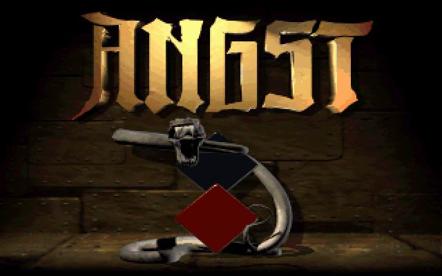 Title screen from Angst: Rahz's Revenge