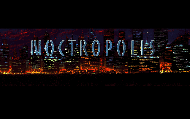 Title screen from Noctropolis