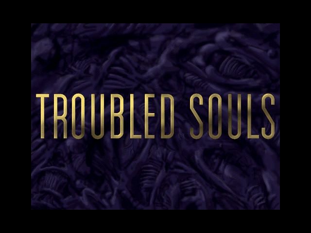Title screen from Troubled Souls