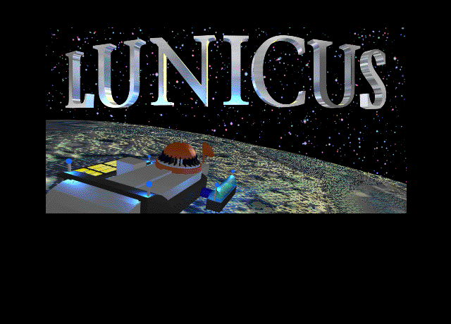 Title screen from Lunicus