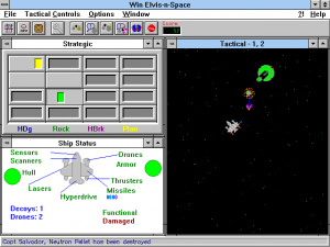 Screenshot from Win Elvis-n-Space