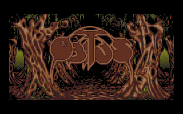 Title screen from Obitus