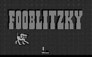 Title screen from Fooblitzky
