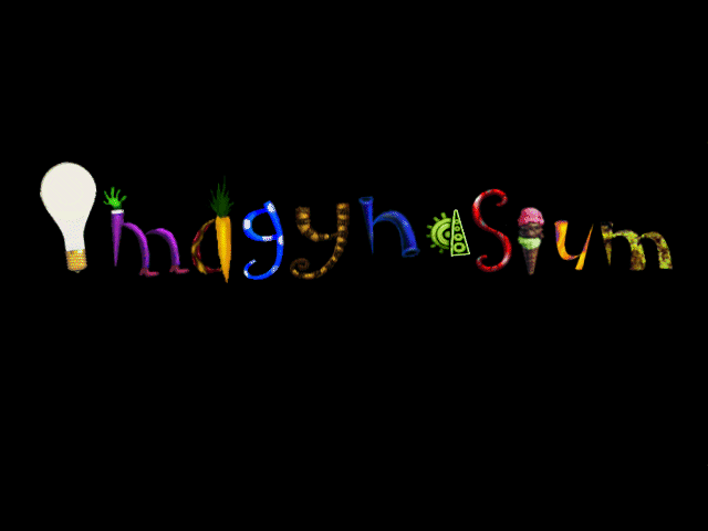 Title screen from Imagynasium