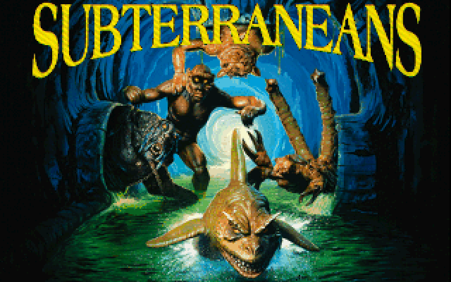 Title screen from Subterraneans