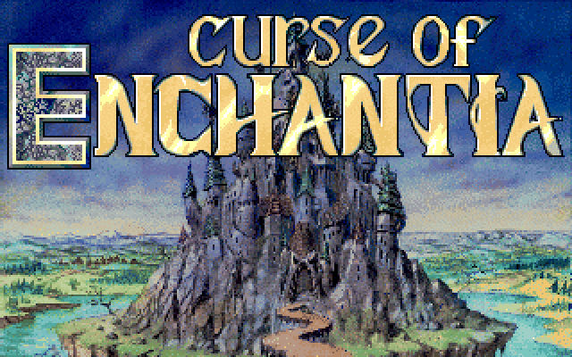 Title screen from Curse of Enchantia