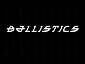 Title screen from Ballistics