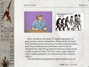 Screenshot from Stephen Jay Gould on Evolution