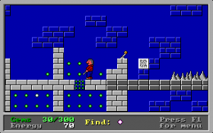 Screenshot from Clyde's Adventure
