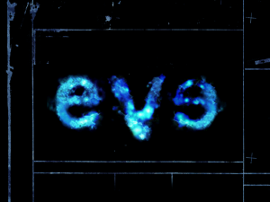 Title screen from Peter Gabriel: Eve