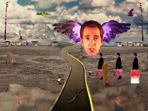 Screenshot from Peter Gabriel: Eve