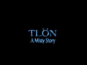 Title screen from Tlön: A Misty Story