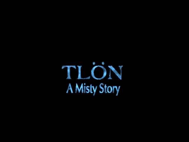 Title screen from Tlön: A Misty Story