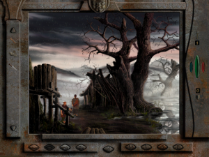 Screenshot from Tlön: A Misty Story