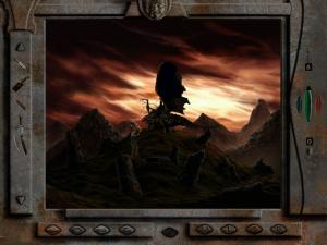 Screenshot from Tlön: A Misty Story