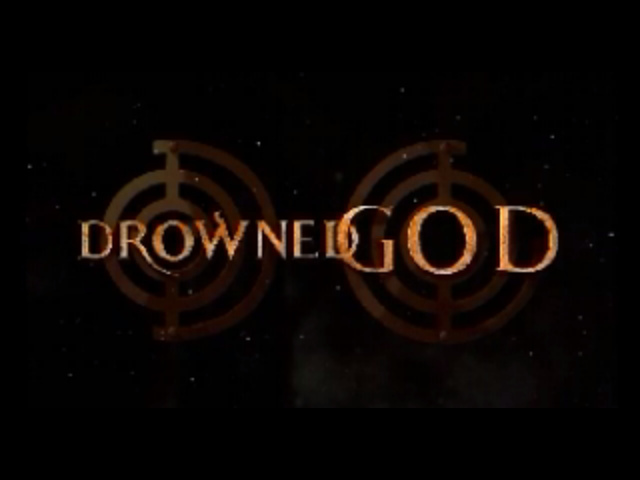 Title screen from Drowned God