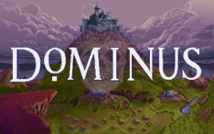 Title screen from Dominus