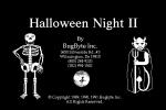 Title screen from Halloween Night II