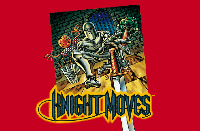Title screen from Knight Moves