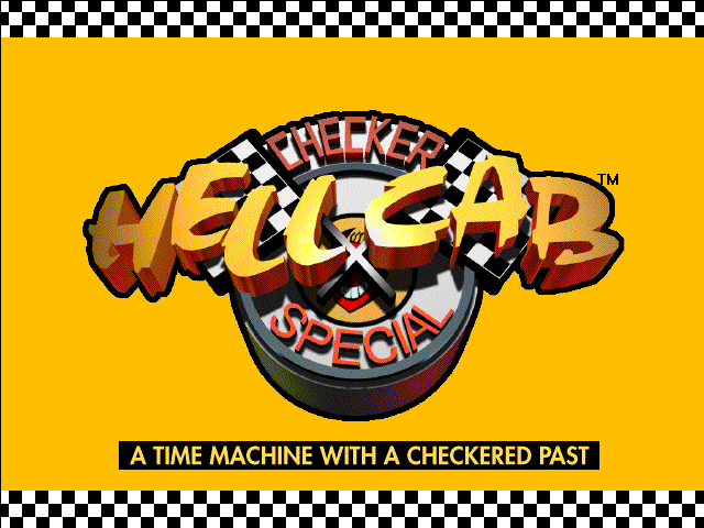 Title screen from Hell Cab