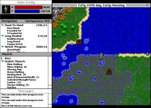 Screenshot from Odyssey: The Legend of Nemesis