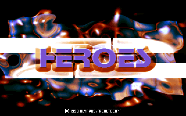 Title screen from Heroes