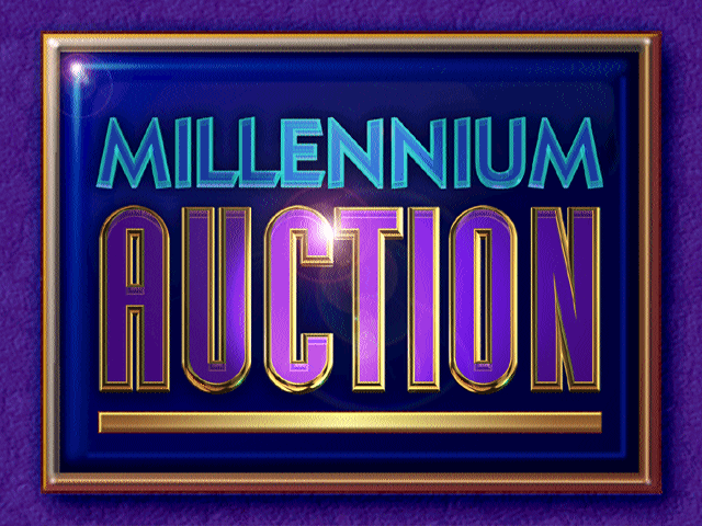 Title screen from Millennium Auction