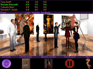 Screenshot from Millennium Auction