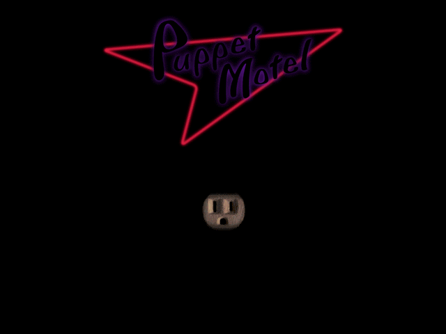 Title screen from Puppet Motel