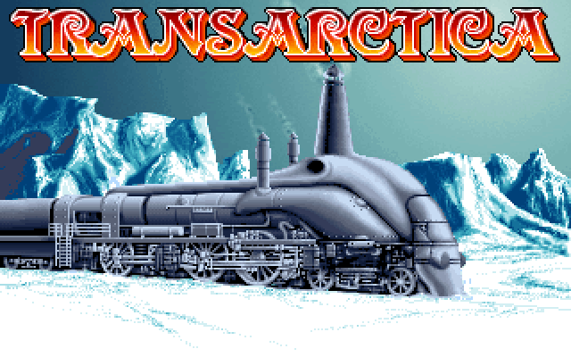 Title screen from Transarctica