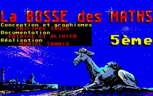 Screenshot from Bosse des maths 5ème